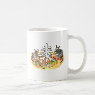 Armadillo Christmas Coffee Mug