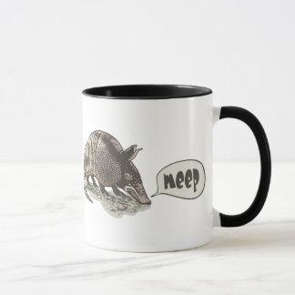 Armadillo goes meep by Mudge Studios Mug