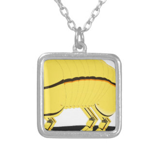 Armadillo Silver Plated Necklace