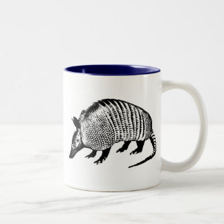Armadillo Two-Tone Coffee Mug