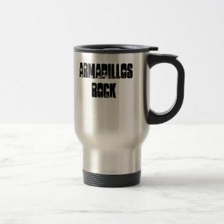 Armadillos Rock Travel Mug