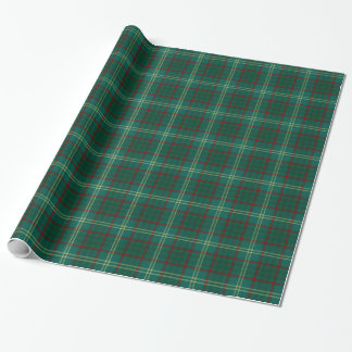 Armagh County Irish Tartan Wrapping Paper