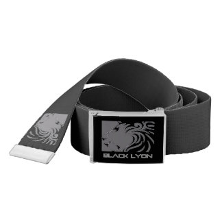 armani black Lyons belt