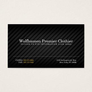 Armani Suit Business Cards
