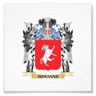 Armanno Coat of Arms - Family Crest Photo Print