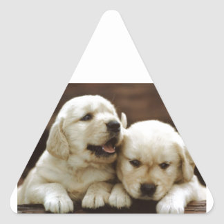 Armant Puppy Dogs Triangle Sticker