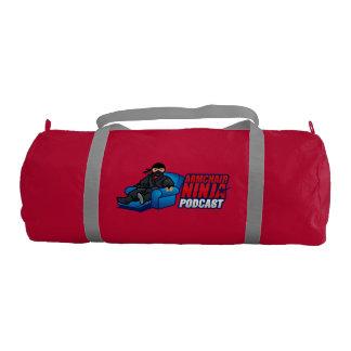 Armchair Ninja Podcast Duffle Bag Gym Duffel Bag