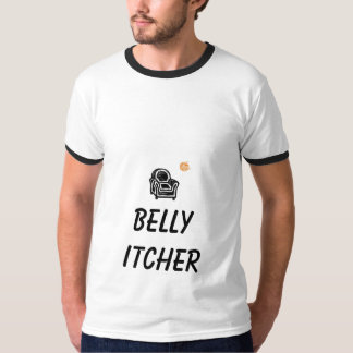 Armchair, orange baseball, BELLY ITCHER T-Shirt