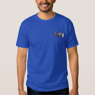 Armchair Racer Embroidered T-Shirt