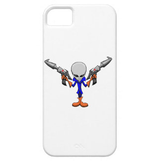 Armed Alien Grey iPhone 5 Covers