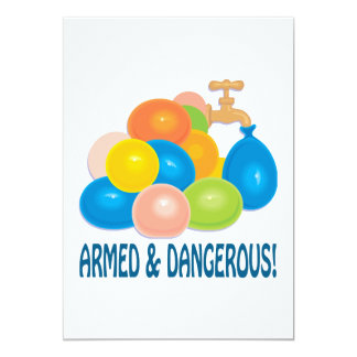 Armed And Dangerous Card