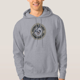 Armed and Dangerous Lacrosse Hoodie. Hoodie