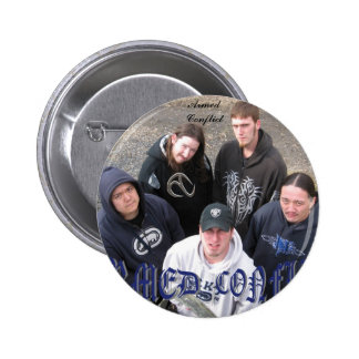 Armed Conflict band pic pin