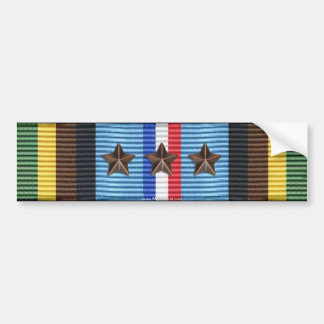 Armed Forces Expeditionary Medal 4th Award Sticker Bumper Stickers