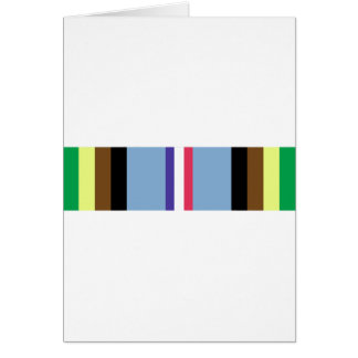 Armed Forces Expeditionary Ribbon Greeting Card