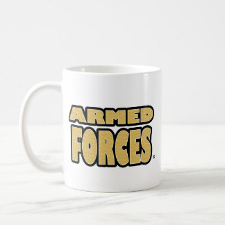 Armed Forces; Gold-Letters any-style Mugs