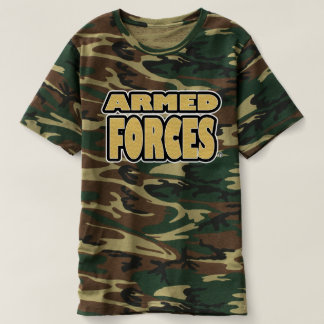 Armed Forces; Golds Camouflage T-Shirts