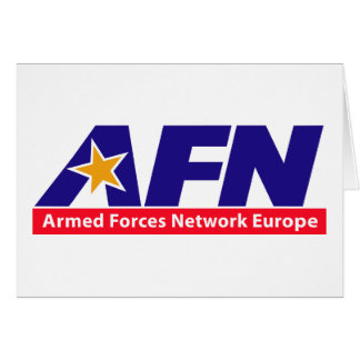 Armed Forces Network Europe Greeting Card