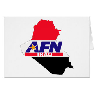 Armed Forces Network Iraq Card