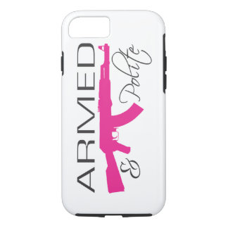 Armed & Polite, iPhone 7, Tough iPhone 8/7 Case