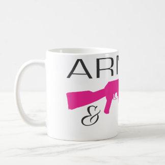 Armed & Polite, White 11 oz Classic White Mug