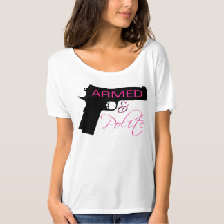 Armed & Polite, Women's Bella Slouchy T-Shirt