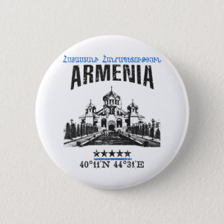 Armenia 6 Cm Round Badge