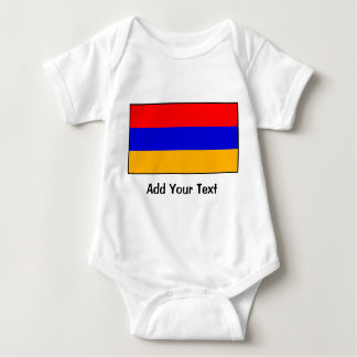 Armenia - Armenian Flag Baby Bodysuit