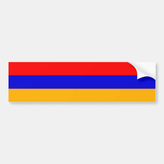 Armenia/Armenian Flag Bumper Sticker