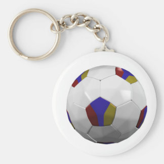 Armenia Basic Round Button Key Ring