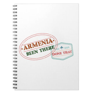 Armenia Been There Done That Spiral Notebook