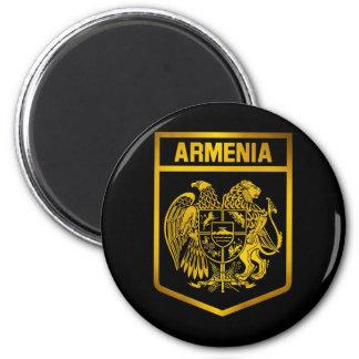 Armenia Emblem 6 Cm Round Magnet
