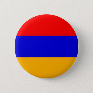Armenia Flag; Armenian 6 Cm Round Badge