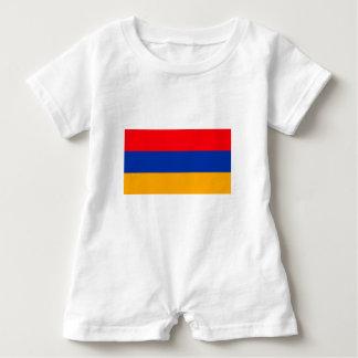 Armenia Flag Baby Bodysuit