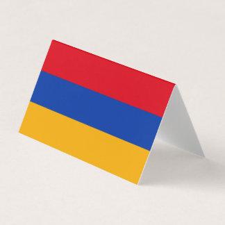 Armenia Flag Business Card