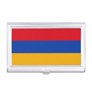Armenia Flag Business Card Holder