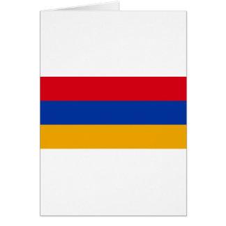 Armenia Flag Card