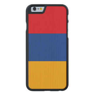 Armenia Flag Carved Maple iPhone 6 Case