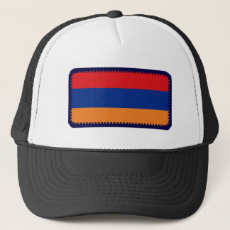 Armenia flag embroidered effect hat