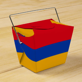 Armenia Flag Favour Box