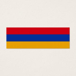 Armenia Flag Mini Business Card