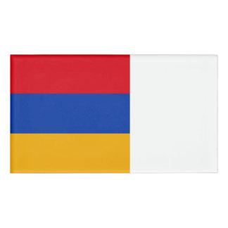 Armenia Flag Name Tag