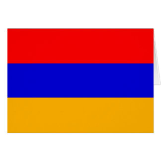 Armenia Flag Note Card