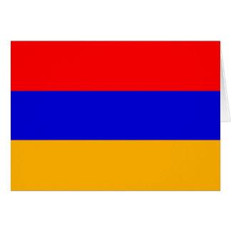 Armenia Flag Note Card