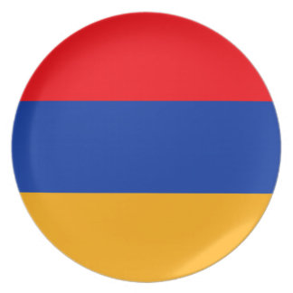 Armenia Flag Party Plates