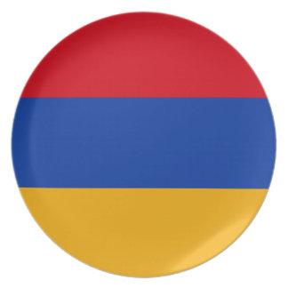 Armenia Flag Plate