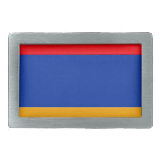 Armenia Flag Rectangular Belt Buckles