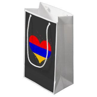 Armenia Flag Shining Unique Small Gift Bag