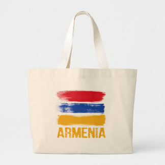 Armenia Flag shirts Large Tote Bag