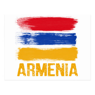 Armenia Flag shirts Postcard